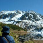 """【穴場スポット】""""みどりが池 """" 透明な水面にうつる立山が美しい。"""